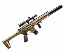 Пневматическая винтовка Sig Sauer MCX Scoped FDE-S (прицел 1-4x24)
