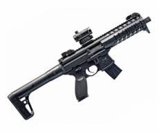 Пневматическая винтовка Sig Sauer MPX BLK-R (коллиматор)