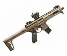 Пневматическая винтовка Sig Sauer MPX FDE-R (коллиматор)