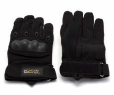 Перчатки тактические Gongtex полноразмерные (черные)