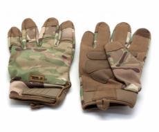 Перчатки тактические Gongtex Tactical полноразмерные (камуфляж)