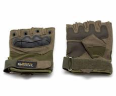 Перчатки тактические Gongtex укороченные (хаки)