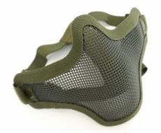 Маска-сетка с 2-мя ремешками на ниж. часть лица Green