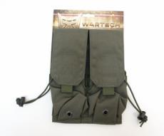 Подсумок Wartech MP-106 под 4 магазина АК-серии, олива