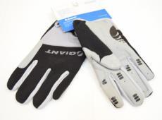 Перчатки велосипедные Giant Black/Gray (P24-0204)