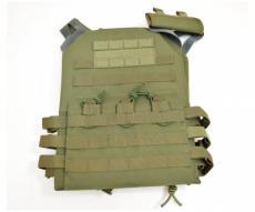 Разгрузочный жилет с бронепластинами P24 Olive (P24-0610)