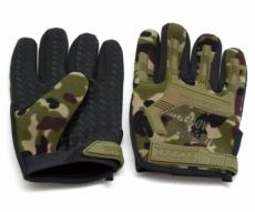Перчатки тактические Adventure полноразмерные прорезиненные (камуфляж)