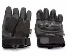 Перчатки тактические PMX Tactical Pro, прорезиненный кастет (черные)