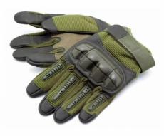 Перчатки тактические Стикхант Marine прорезин. кастет I-Touch (хаки)