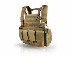 Нагрудная разгрузочная система Wartech Chest Rig MK3 TV-104 койот