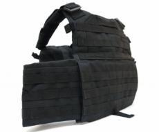 Разгрузочный жилет Plate Carrer Black (VT89B)