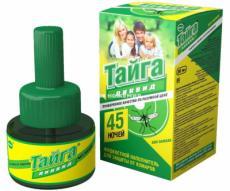 Наполнитель жидкий от комаров «Тайга» (ИН-36)