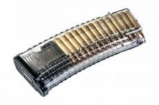 Магазин Pufgun на Сайга МК223, 5,56x45, 30 патронов, прозрачный