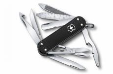 Нож-брелок Victorinox MiniChamp Alox 0.6381.23 (58 мм, черный)