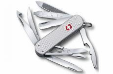 Нож-брелок Victorinox MiniChamp Alox 0.6381.26 (58 мм, серебристый)
