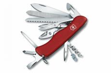 Нож складной Victorinox WorkChamp 0.9064 (111 мм, красный)