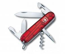 Нож складной Victorinox Spartan 1.3603.T (91 мм, полупрозрачный красный)