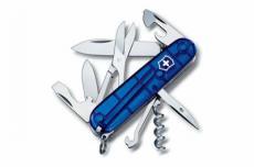 Нож складной Victorinox Climber 1.3703.T2 (91 мм, полупрозрачный синий)
