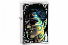 Зажигалка Zippo 24403 Face Painting Boy