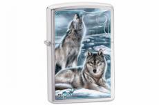 Зажигалка Zippo 28002 Howling Wolves by Mazzi
