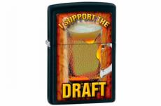 Зажигалка Zippo 28294 I Support the Draft
