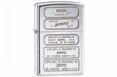 Зажигалка Zippo 28381 Bottom Stamps