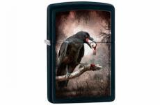 Зажигалка Zippo 28434 Goth-Raven Eyeball