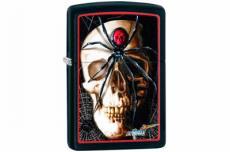 Зажигалка Zippo 28627 Mazzi Spider & Skull